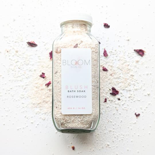 BLOOM BODY CO BLUSH BATH SOAK