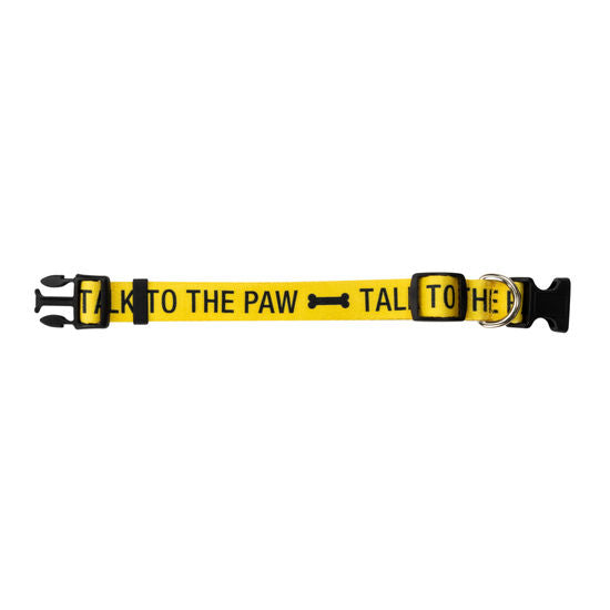 Talk To The Paw Dog Collar S/M