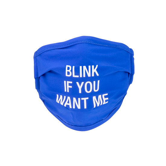 Blink If You Want Me Mask