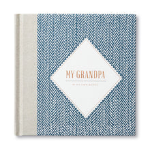 Load image into Gallery viewer, MY GRANDPA: IN HIS OWN WORDS GUIDED JOURNAL