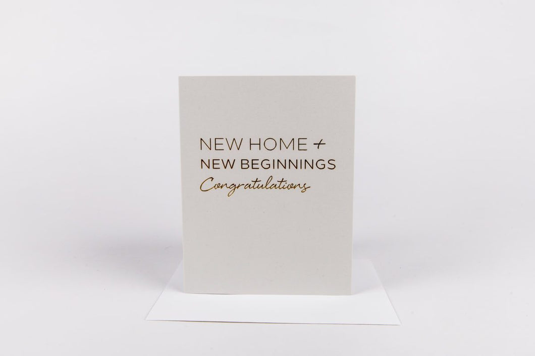 New Home Card
