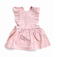 Load image into Gallery viewer, PINAFORE LINEN DRESS - 2 Colours  (6-12 Months)