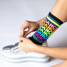 Load image into Gallery viewer, DANCE DANCE DANCE DANCE SOCKS