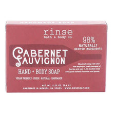 Load image into Gallery viewer, MINI CABERNET SAUVIGNON SOAP - Rinse Bath & Body Co