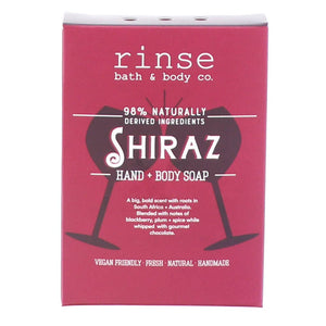 MINI SHIRAZ SOAP - Rinse Bath & Body Co