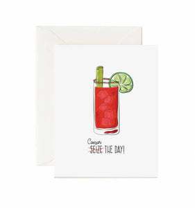 Caesar The Day! Card