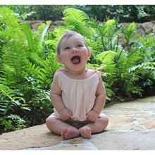 Load image into Gallery viewer, TIE LINEN ROMPER - 2 Colours  (6-12 Months)