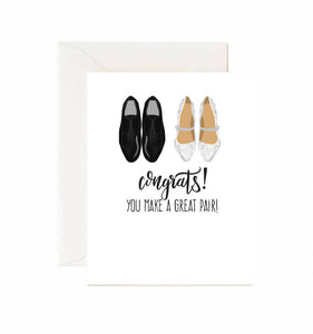 CONGRATS! YOU MAKE A GREAT PAIR!