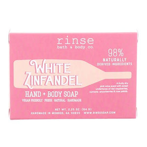 MINI WHITE ZINFANDEL SOAP - Rinse Bath & Body Co