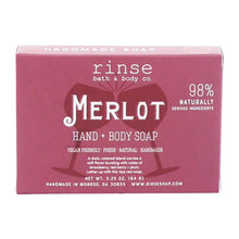 Load image into Gallery viewer, MINI MERLOT SOAP - Rinse Bath & Body Co