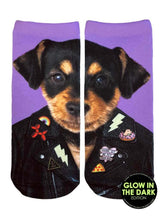 Load image into Gallery viewer, PUNK DOG ANKLE SOCKS