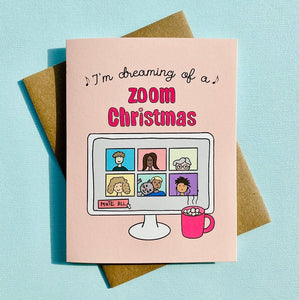 I'M DREAMING OF A ZOOM CHRISTMAS