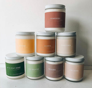 Land Of Daughters Candle - Just Breathe