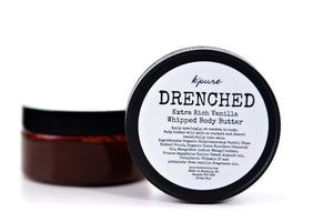 Drenched Whipped Face & Body Butter - Vanilla 25ml and 125ml