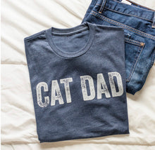 Load image into Gallery viewer, Cat Dad T-shirt