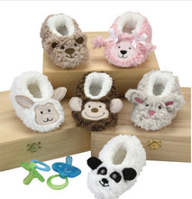 Load image into Gallery viewer, Snoozies Baby Furry Footpals - Bunny