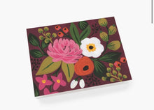 Load image into Gallery viewer, Vintage Blossoms Burgundy Floral