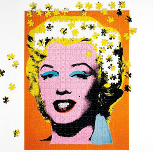 Andy Warhol/Marilyn Monroe Double-Sided 500 Piece Puzzle