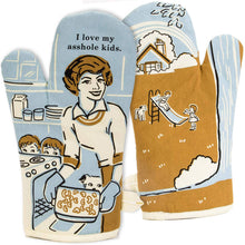 Load image into Gallery viewer, I LOVE MY ASSHOLE KIDS OVEN MITT