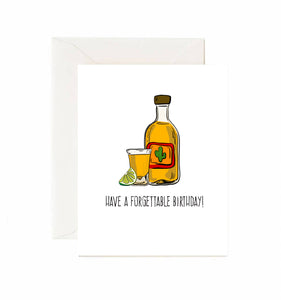 Tequila Birthday Card