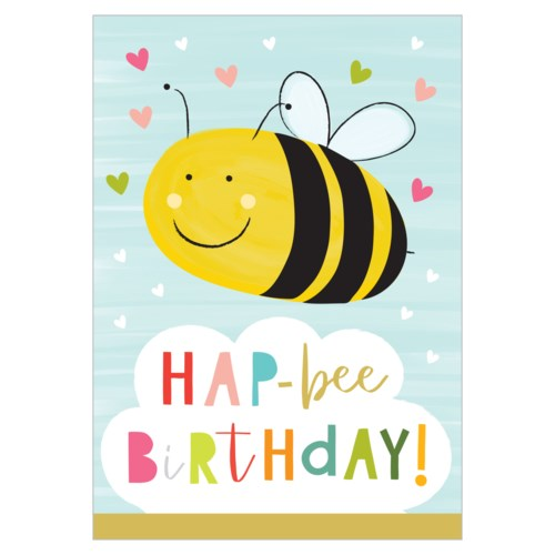 HAP-BEE BIRTHDAY CARD