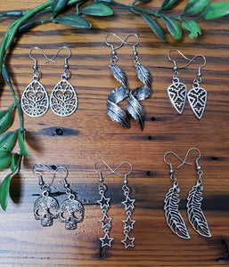 Silver Findings Earrings