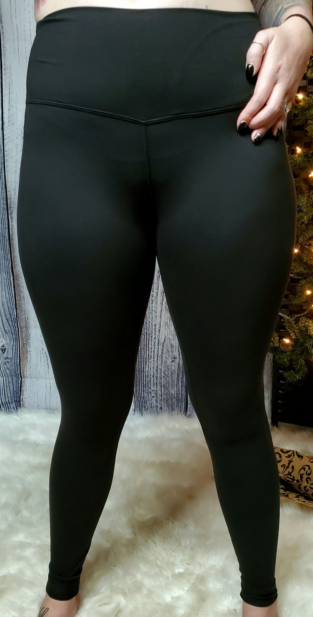Butter Me Up Leggings- Black