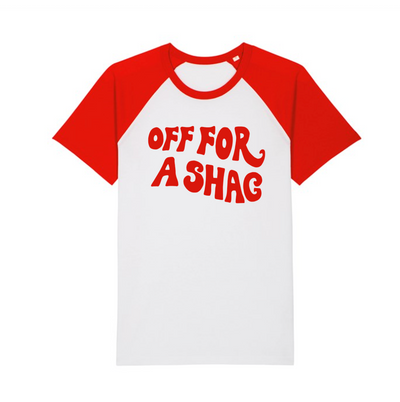 Off For A Shag Baseball Tee