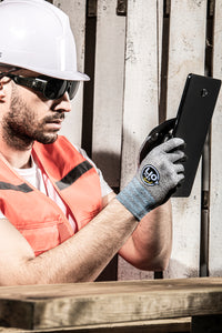 LIO FLEX Touch Screen NBR Foam Coated Work Gloves