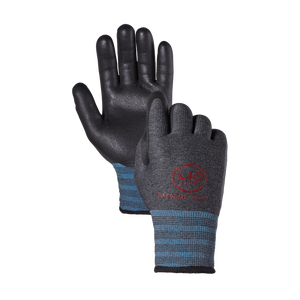 LIO FLEX Extreme Cold Weather Winter Fleece NBR Foam Coated Work Gloves