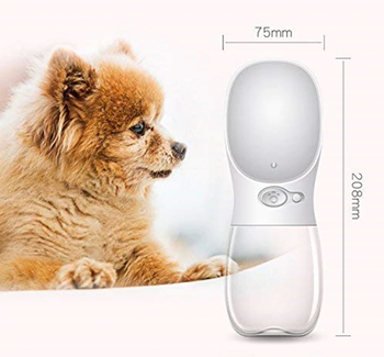 Safe Pawz™ Portable Water Bottle for Pets with Dispenser