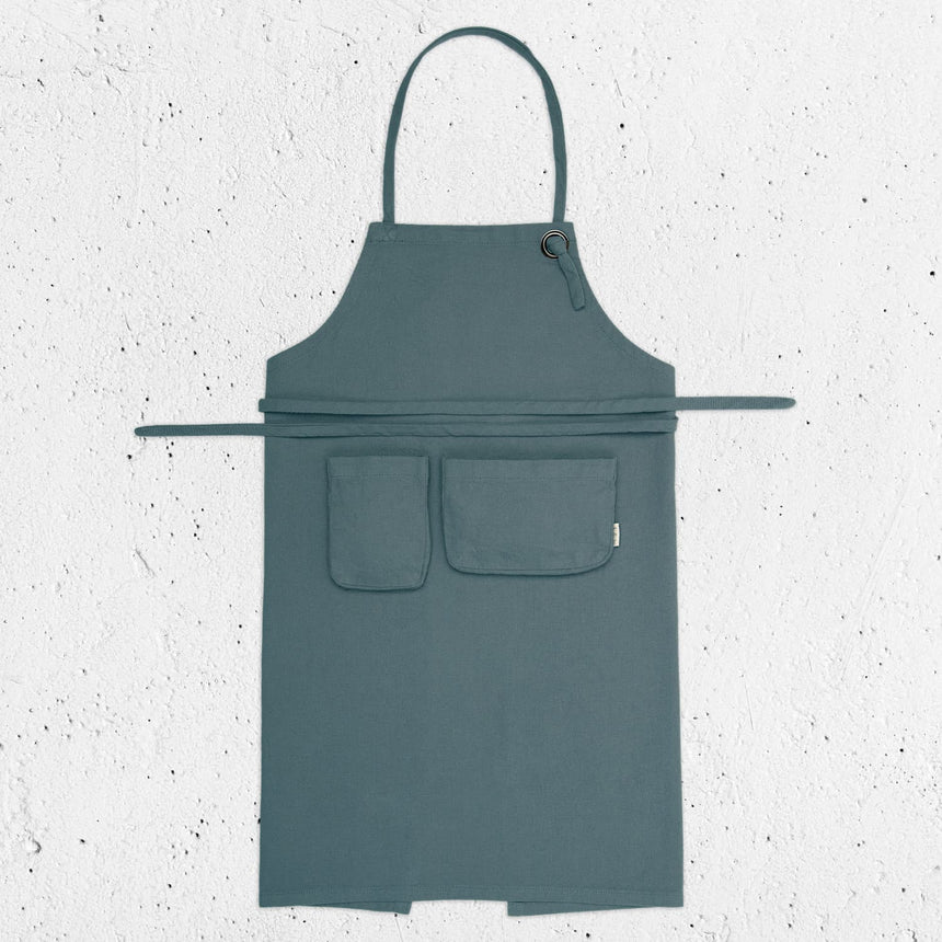 Numero 74 - Apron Kid - Ice Blue - S032