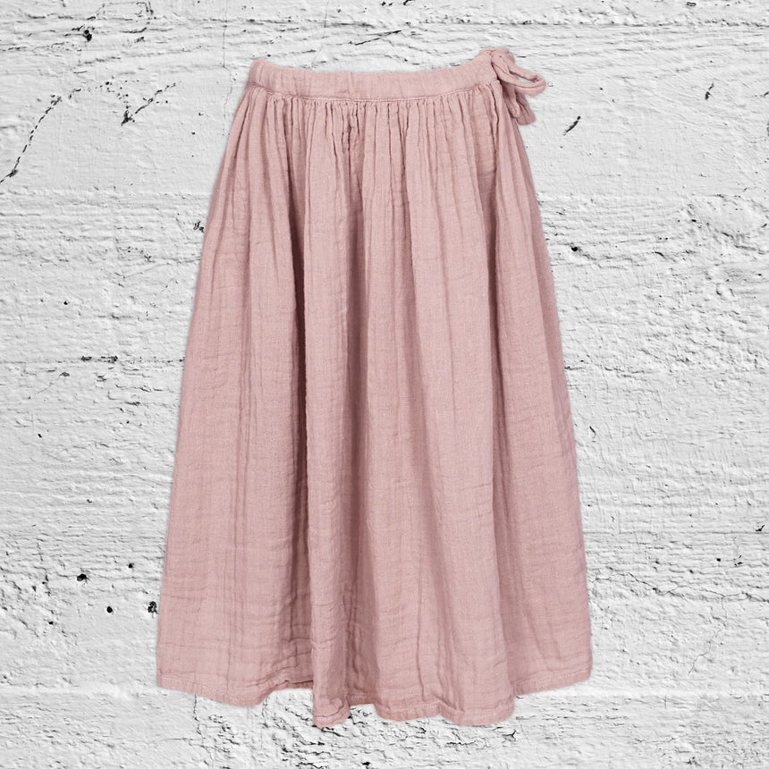 Numero 74 - Ava Long Skirt  - Kids - Dusty Pink - S007