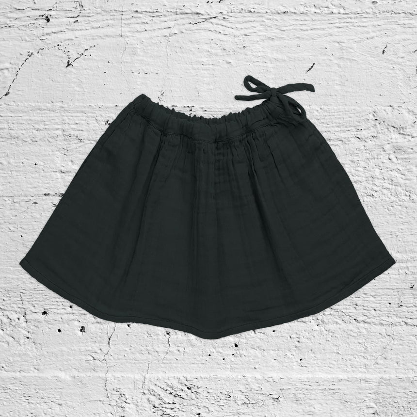 Numero 74 - Ava Midi Skirt - Baby - Dark Grey - S021