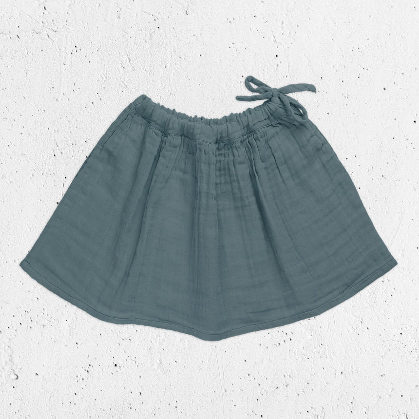 Numero 74 - Ava Midi Skirt - Kids - Ice Blue - S032