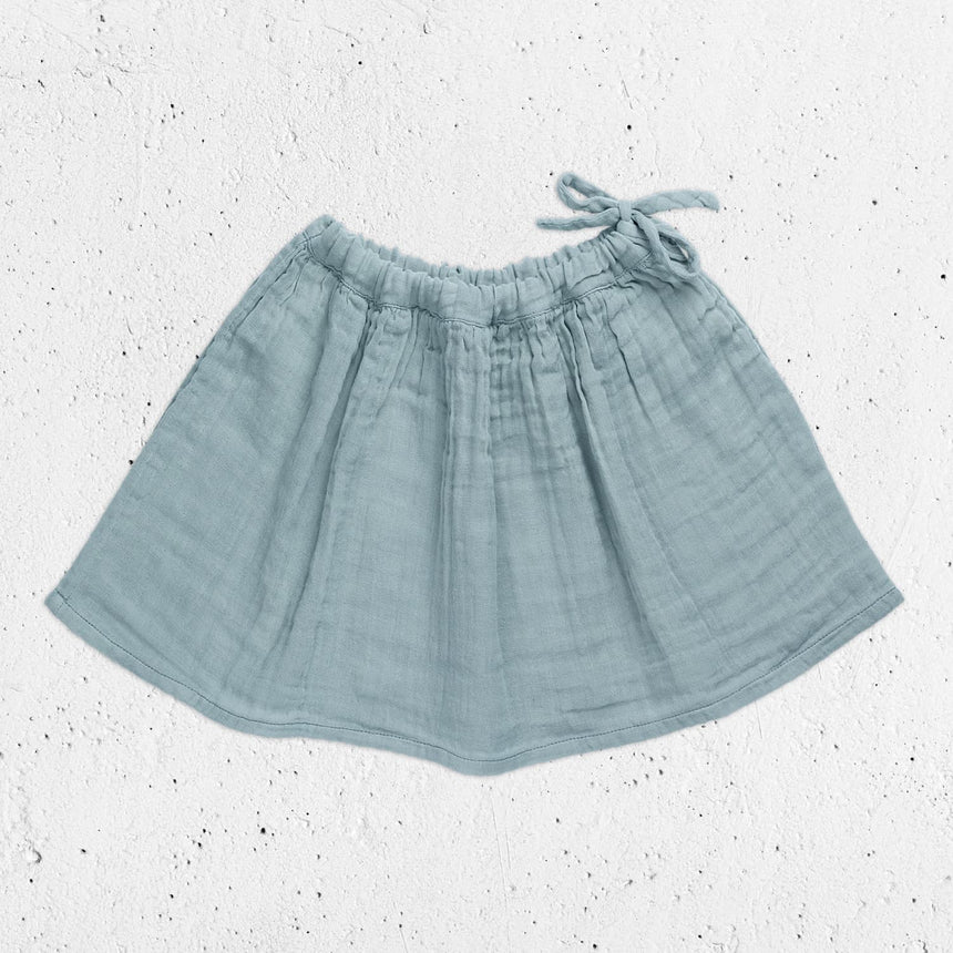 Numero 74 - Ava Midi Skirt - Kids - Sweet Blue - S046