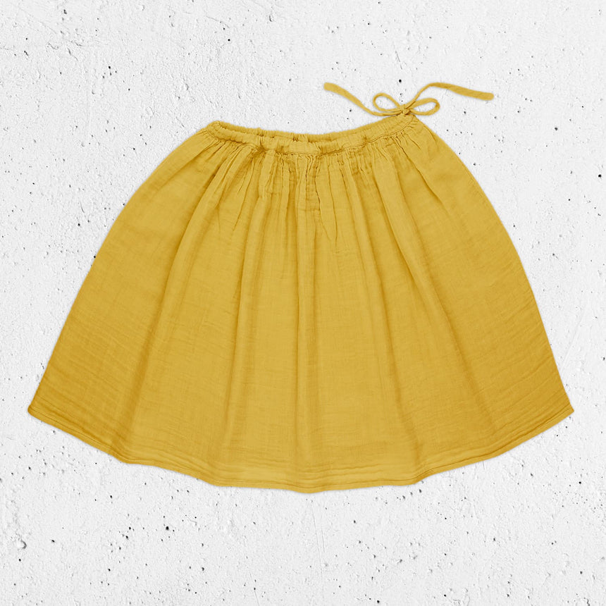 Numero 74 - Ava Midi Skirt  - Women - Sunflower Yellow - S028