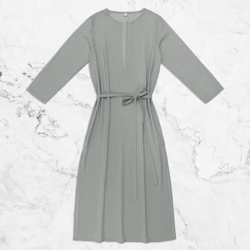 Numero 74 - Fashion - Aya Djellaba - Silver Grey - S019