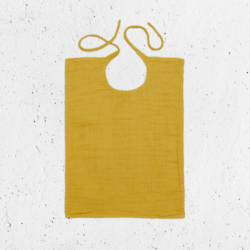 Numero 74 - Baby Bib Square - Sunflower Yellow - S028