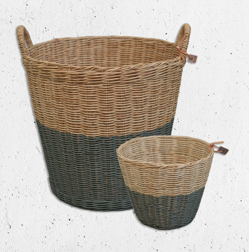 Numero 74 - Rattan - Basket - Dark Grey - S021