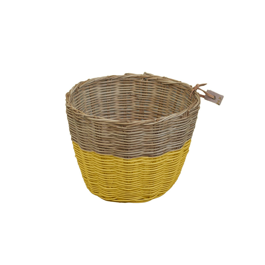 Numero 74 - Rattan - Basket - Sunflower Yellow - S028