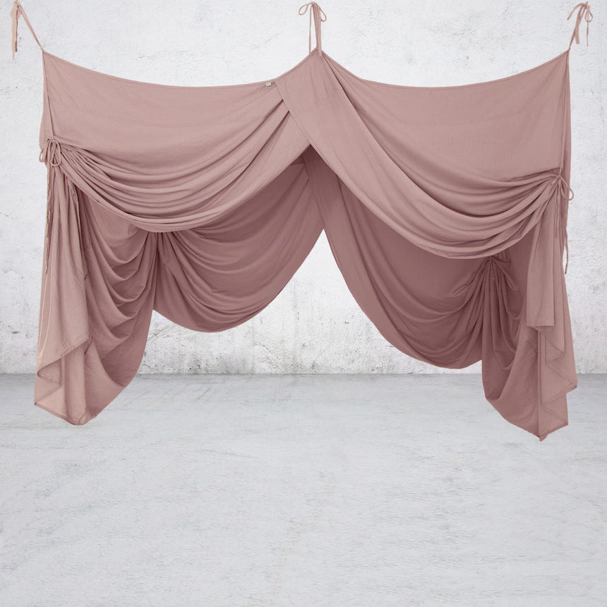 Numero 74 - Bed Drape Double - Dusty Pink - S007
