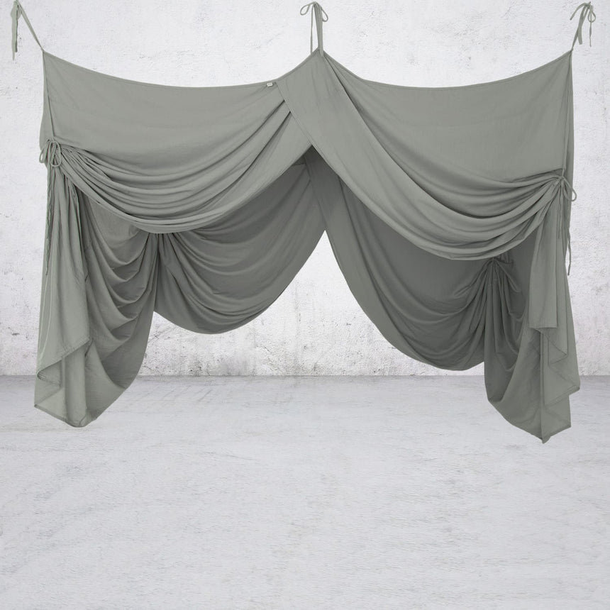 Numero 74 - Bed Drape Single - Dark Grey - S021