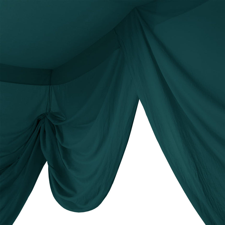 Numero 74 - Bed Drape Double - Teal Blue - S022