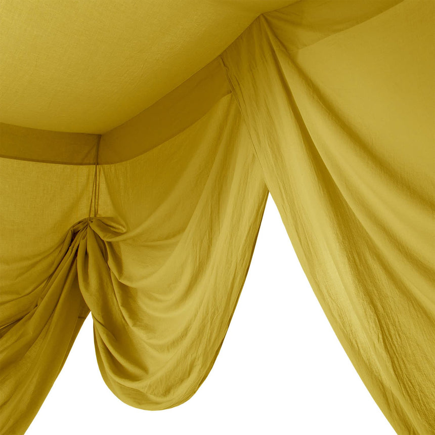 Numero 74 - Bed Drape Single - Sunflower Yellow - S028
