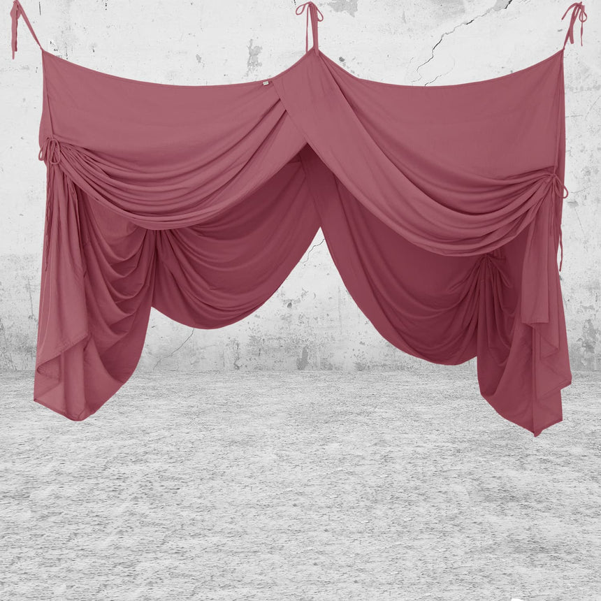 Numero 74 - Bed Drape Single - Baobab Rose - S042