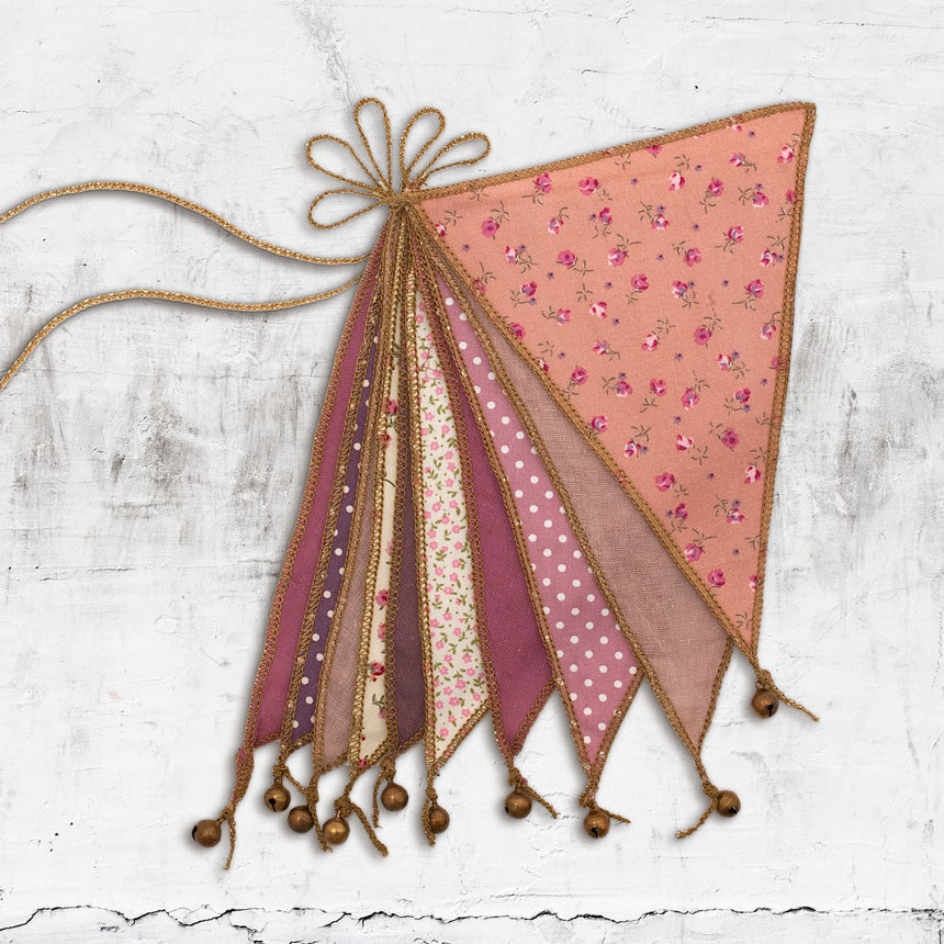 Numero 74 - Bunting Garland - Mix Pink - M004