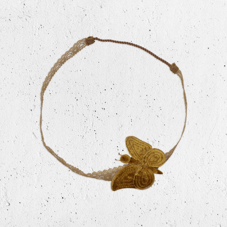 Numero 74 - Butterfly Headband - Gold - S024