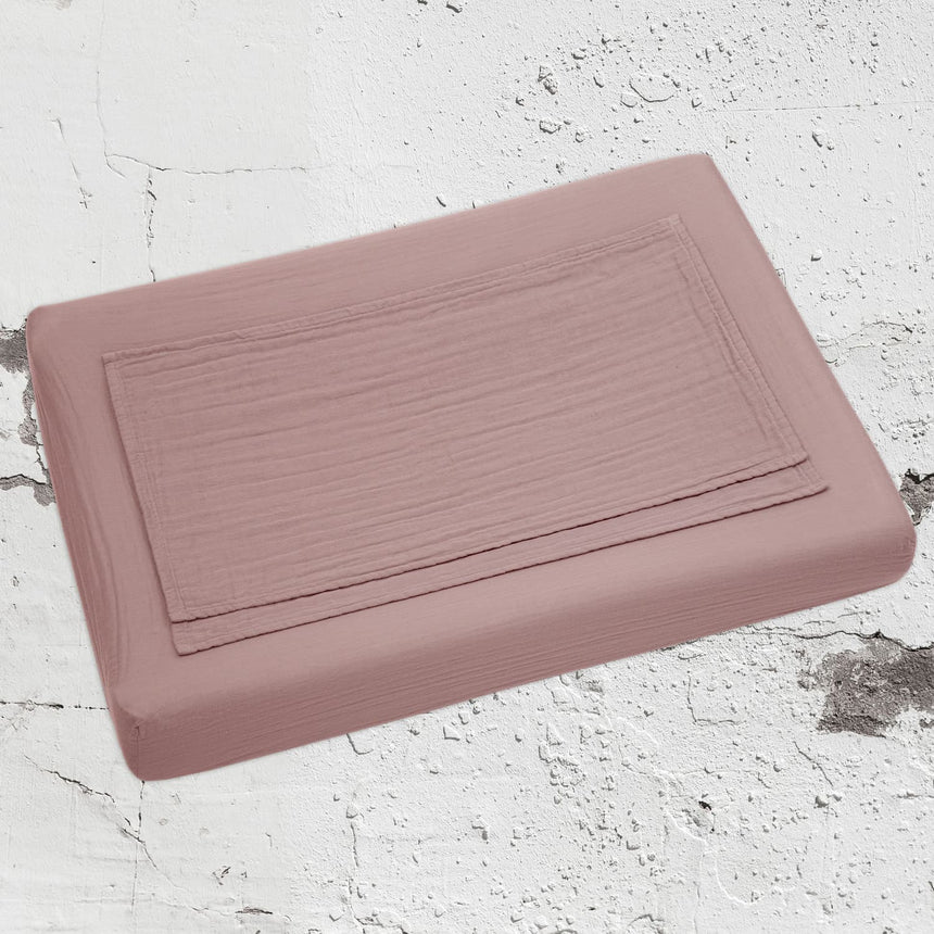 Numero 74 - Travel Changing Pad - Dusty Pink - S007