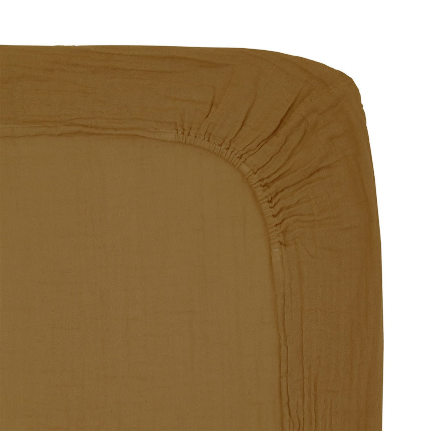 Numero 74 - Changing Pad Fitted Cover - Gold - S024